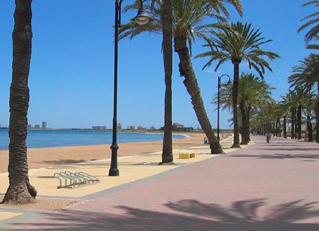 Costa Calida Properties close to Golf Resorts - Apartments Mar de Cristal at Mar Menor, Costa Calida -