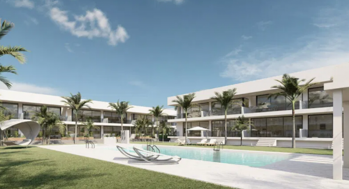 Costa Calida Properties close to Golf Resorts - Apartments Mar de Cristal, Mar Menor, Costa Calida