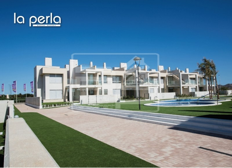 Costa Calida Properties close to Golf Resorts - Luxury Apartments La Perla Beach Resort Mar Menor, Costa Calida