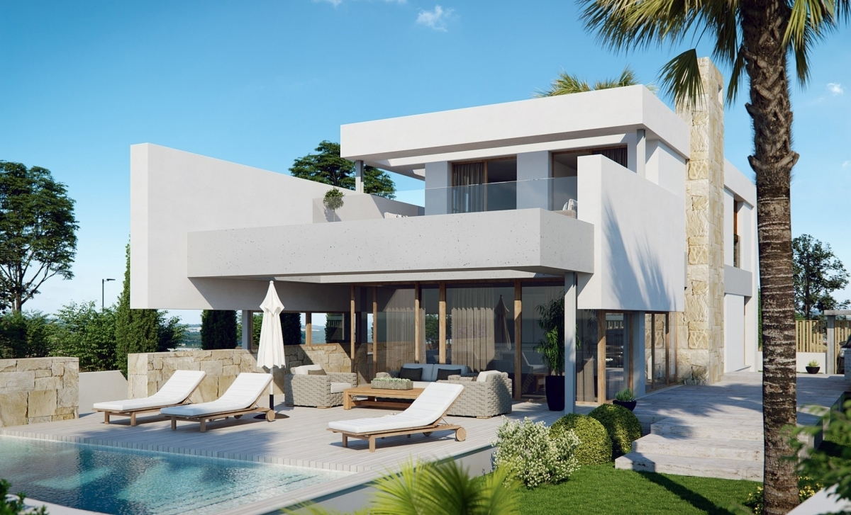 Costa Calida Properties close to Golf Resorts - Villas La Perla Beach Resort; Mar Menor, Costa Calida