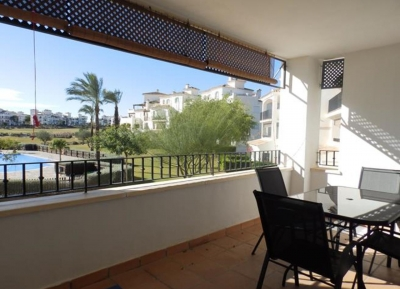 Fairway Apartment mit grosser Terrasse, Hacienda Riquelme Golf Resort, Costa Calida