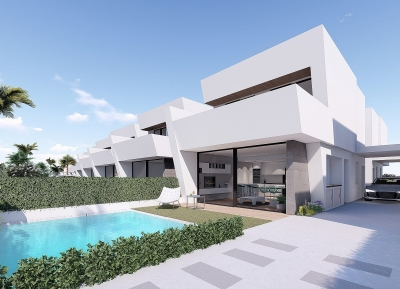 Exquisite Townhouses in Santiago de la Ribera, Costa Calida