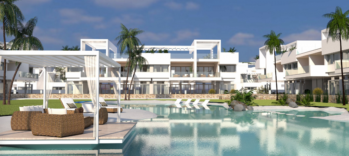 Costa Blanca Immobilien in Nähe von Golf Resorts - Elegante Bungalows in Los Balcones, Costa Blanca