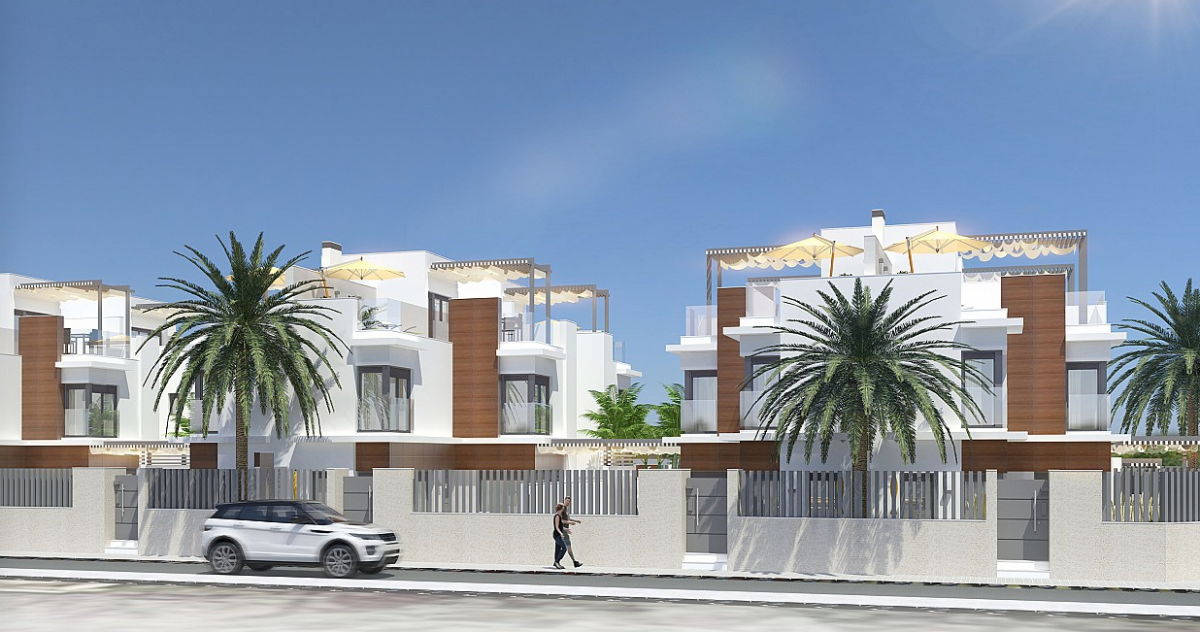 Costa Calida Properties close to Golf Resorts - Townhouse in Santiago de la Ribera, Costa Calida