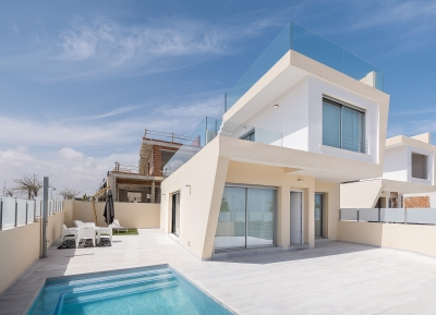 Wonderful Detached Villas in Mil Palmeras, Costa Blanca