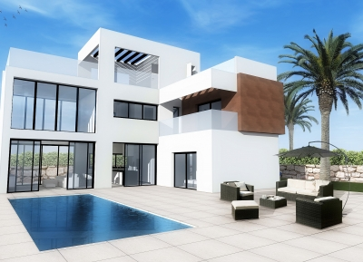 Dream, Detached Villa in Playa de Poniente, Costa Balnca