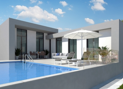 Unusual Detached Villas in Ciudad Quesada, Costa Blanca
