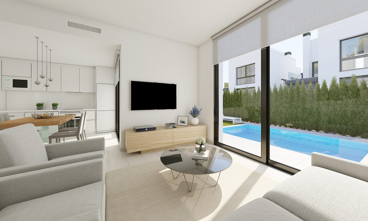 IMMOBILIEN AB 69.500 € in Nähe von Golf Resorts an Costa Blanca - Villa in Urb PAU 26, Costa Blanca -