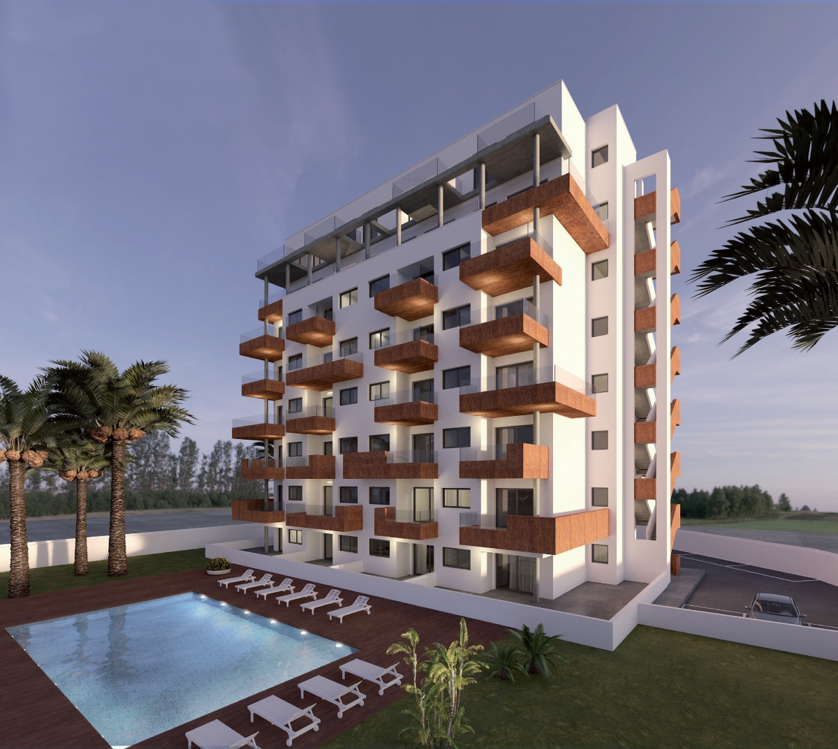 Costa Blanca Immobilien in Nähe von Golf Resorts - Attraktive Apartments Dunas Guardamar, Costa  Blanca