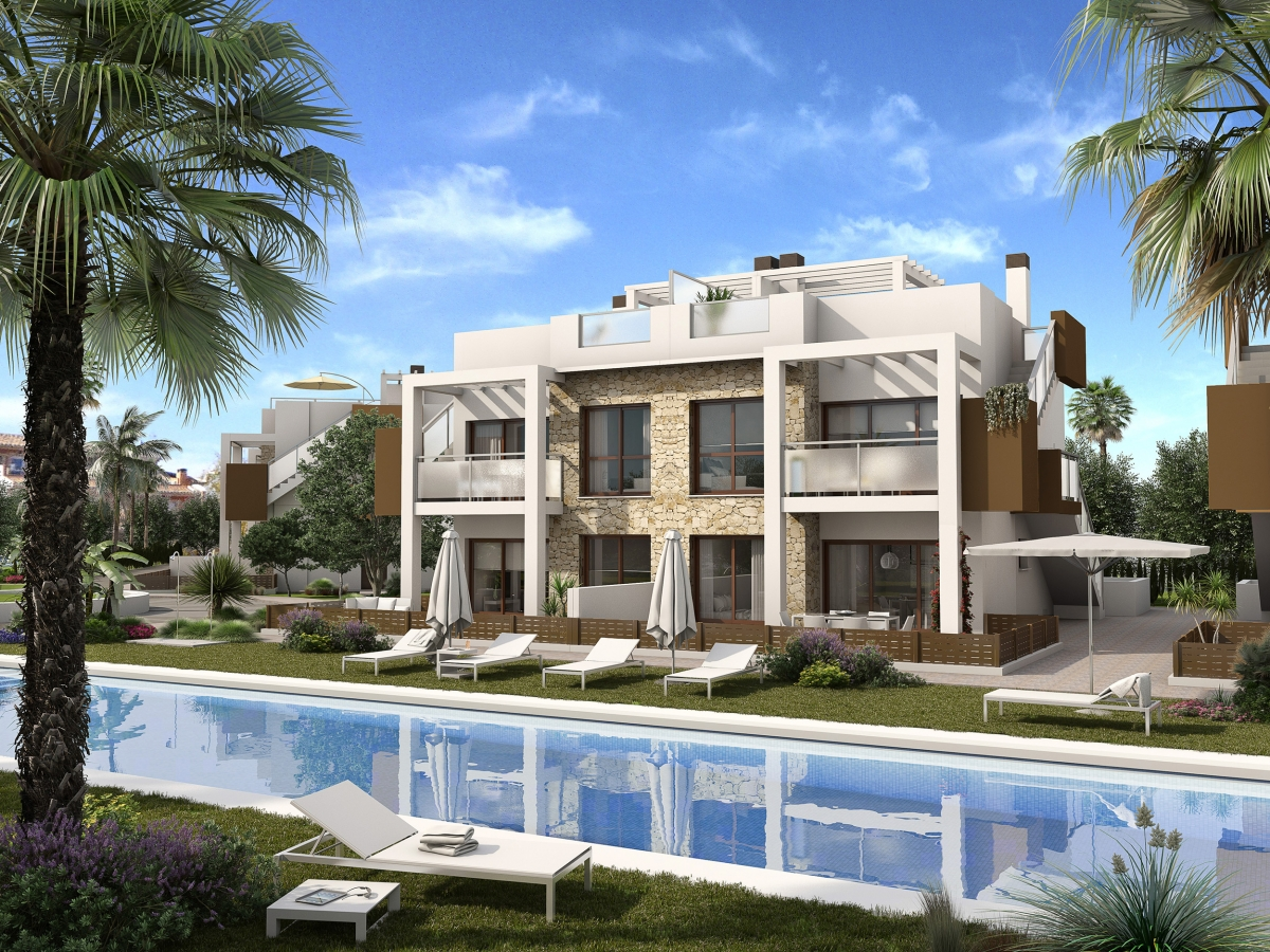 Costa Blanca Properties close to Golf Resorts - Great Apartments in Balcones, Costa Blanca