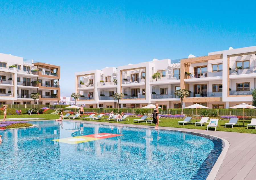 Costa Calida Properties close to Golf Resorts - Apartments Cefiro am Mar Menor, Costa Calida