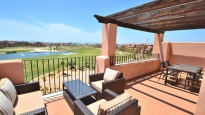 Fantastische Ausblicke von Fairway Penthouse, Mar Menor Golf Resort, Costa Calida