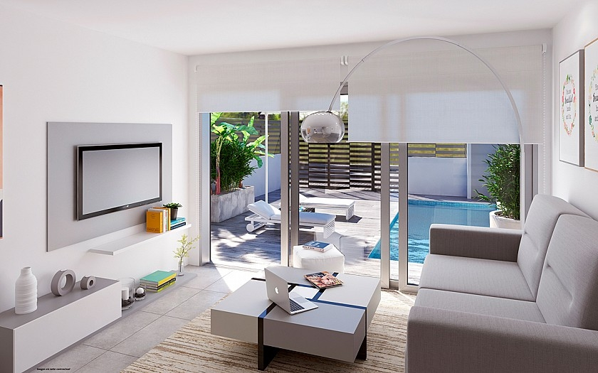 Costa Blanca Immobilien in Nähe von Golf Resorts - Villa in Torre de la Horadada, Costa Blanca