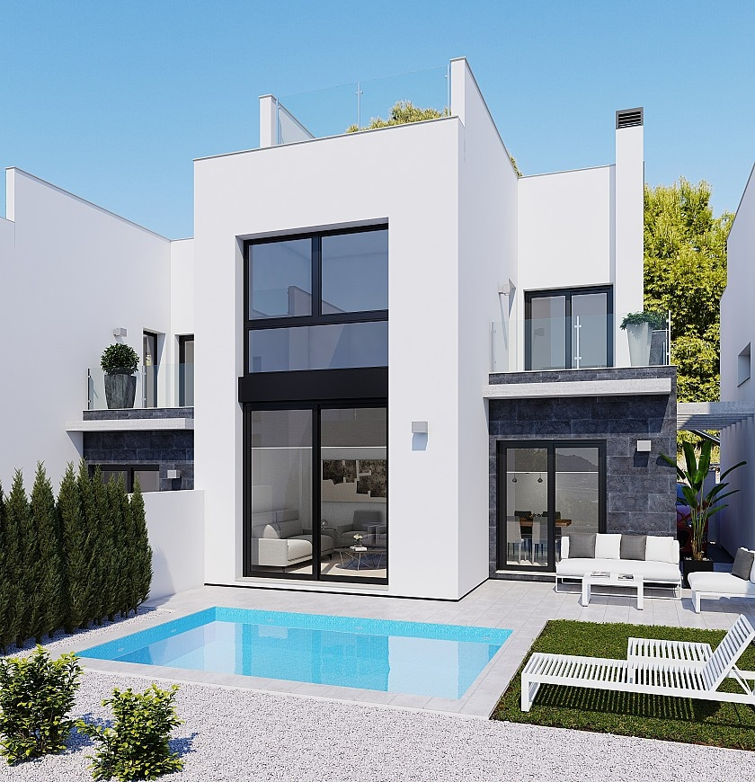 Costa Blanca Immobilien in Nähe von Golf Resorts - Detached Villa in PAU, Costa Blanca