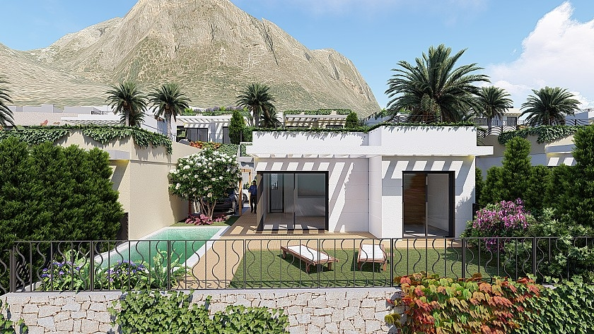 Costa Blanca Properties close to Golf Resorts - Townhouse in Finestrat, Costa Blanca