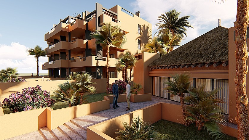 Costa Blanca Immobilien in Nähe von Golf Resorts - Penthouse in Zona de Villamartin, Costa Blanca