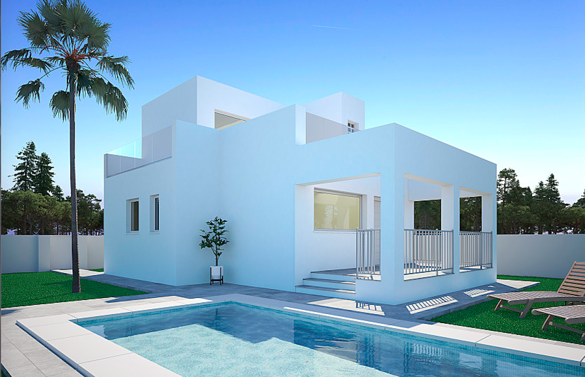 Costa Blanca Properties close to Golf Resorts - Detached Villa in Ciudad Quesada
