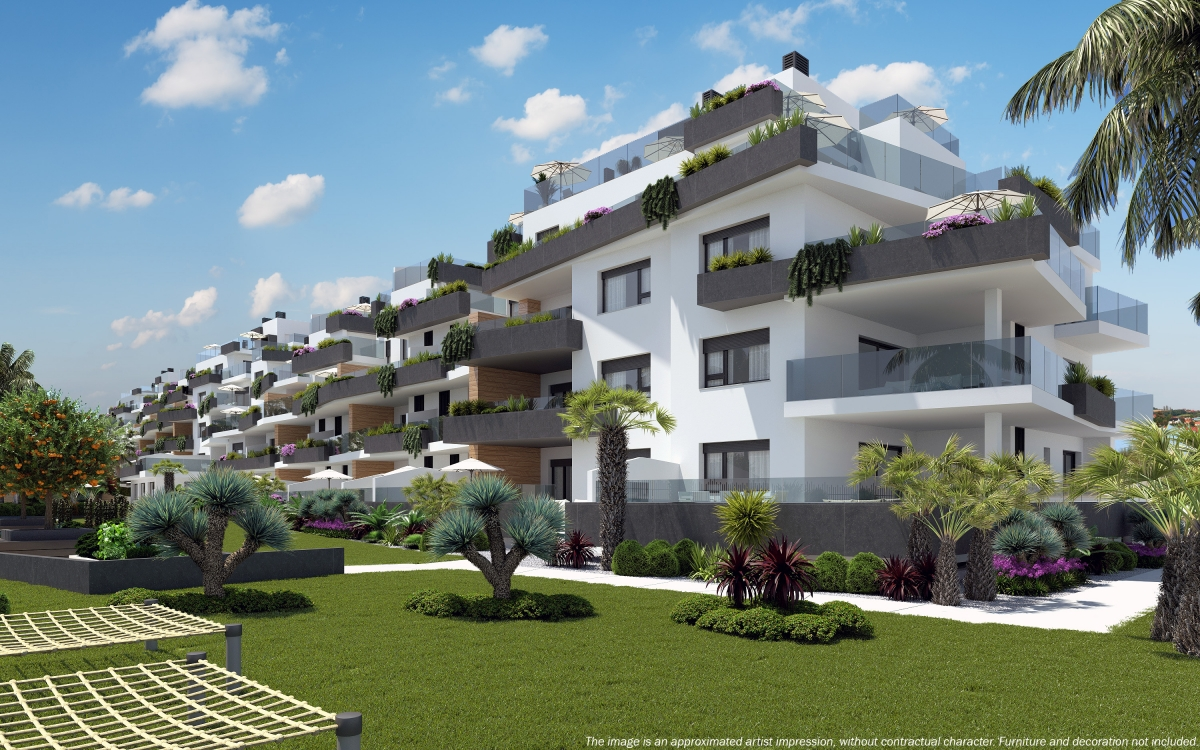 Golf Club Villamartín - Apartments Los Dolces. Muna, Golf Club Villamartin, Costa Blanca -