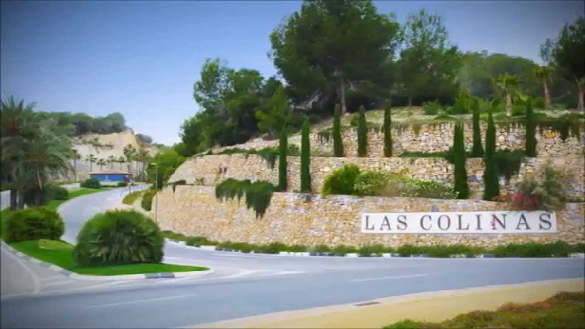 Entrance to Best Golf Resort of Spain
