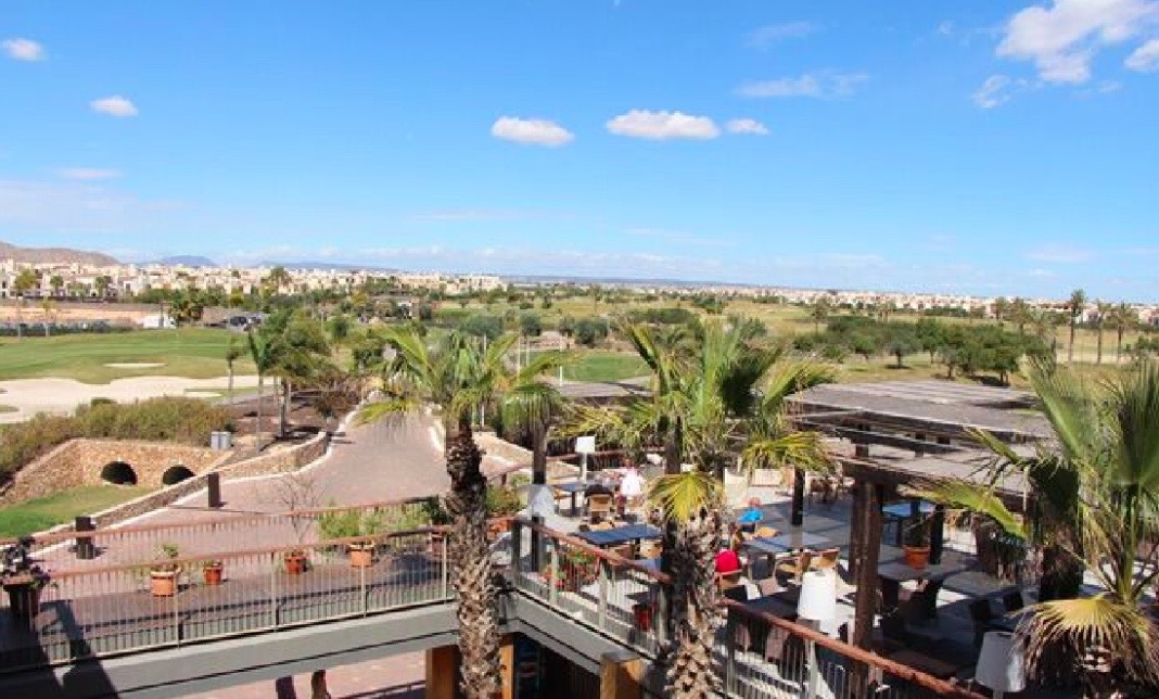 View from Clubhouse to Mediterraneas Sea and Mar Menor